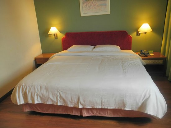 Premier Hotel: king size bed