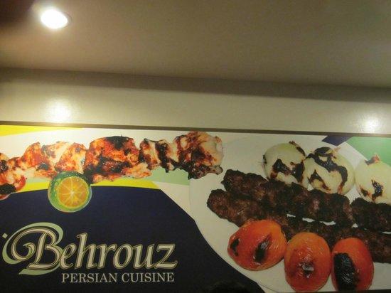 Behrouz: inside store