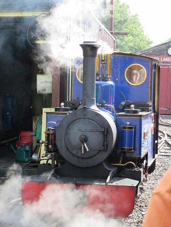 Rudyard Lake Steam Railway: Ride a steam train...