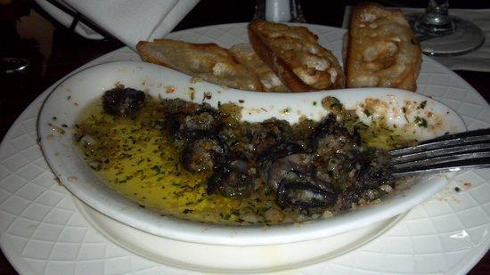 The Veranda: Snails swimming in oil!