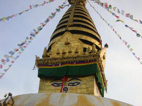 วัดสวะยัมภูนาถ: Swayambhunath Temple