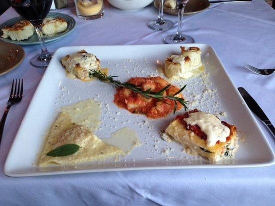 Pasta Italia: Pasta Sampler