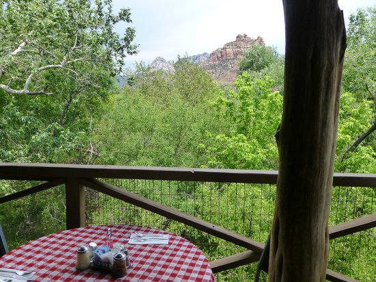 The Hideaway Family Restaurant: the lovely view