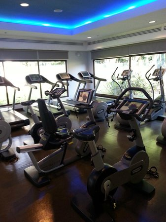 Costa Rica Marriott Hotel San Jose: the other side of the gym