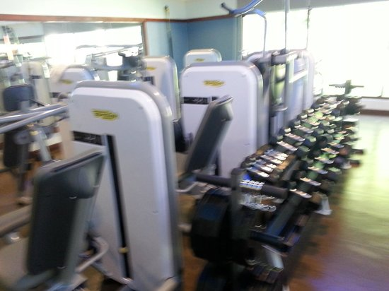 Costa Rica Marriott Hotel San Jose: One side of the Gym