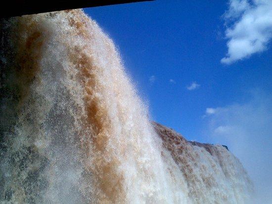 Thermas Parque Aquático Cataratas: segunda queda de foz