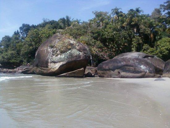 Felix Beach: Canto direito - junção rio-mar