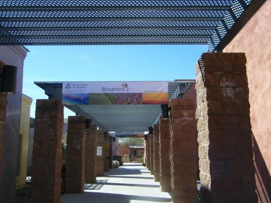 Biosphere 2: entrance