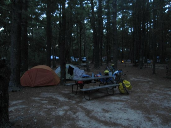 Cape Cod Campresort & Cabins: Our campsite (K)