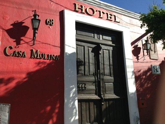 Hotel Casa Molina: Nuestra fachada actual