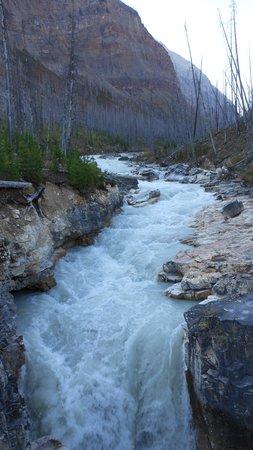 Marble Canyon: falls above photo 1