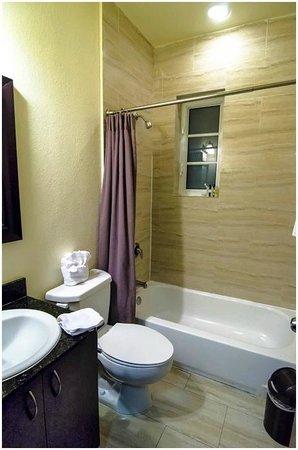 Tradewinds Apartment Hotel: Ванная комната.
