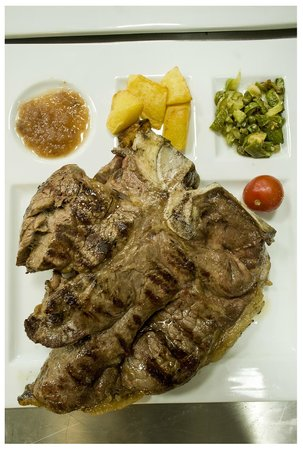 Gusto 66: Big steak Manzetta Prussina
