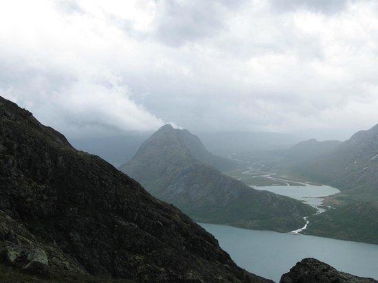 Jotunheimen National Park: Jotunheimen from Besseggen