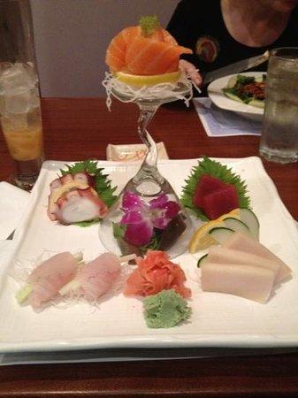 Cafe Asia: dinner!!!