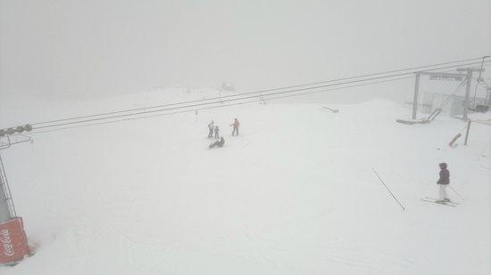 Del Sir Apart-Hotel: Vista desde la cabina de ascenso Cerro Bayo