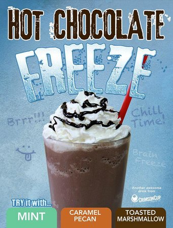 Leo's Donuts and Coffee House: Hot Chocolate Freeze