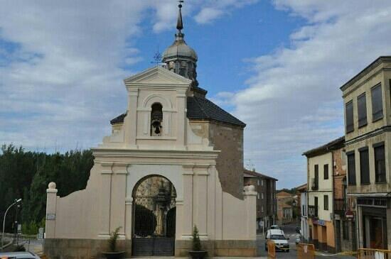 Almazan, Spania: fachads ermita