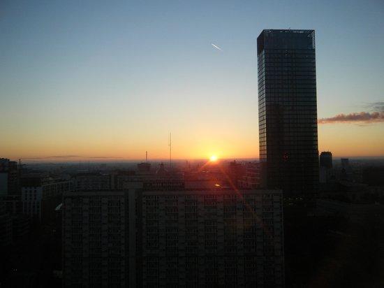 The Westin Warsaw: 17階から見える景色