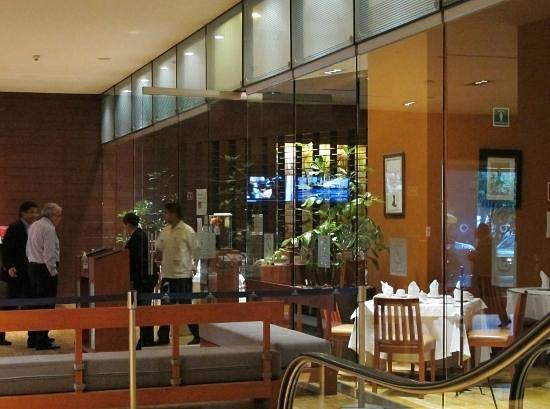 El Cardenal Alameda: Entrance