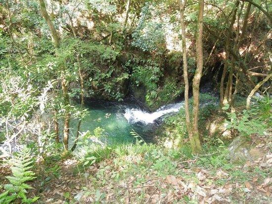 Hossawa Falls: 川の流れ