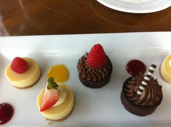 Rusty Pelican: Dessert tasting