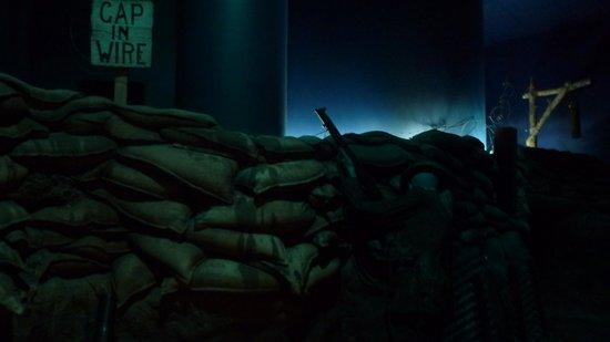 พิพิธภัณฑ์สงครามแคนาดา: Reproduction d'une tranchée