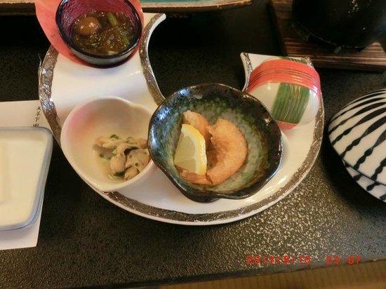 Boyokaku: 夕食