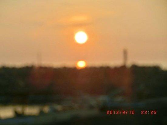 Boyokaku: 夕日