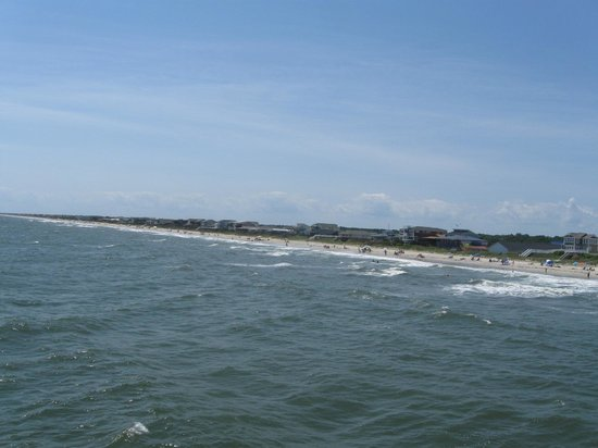 Holden Beach: View from the pier