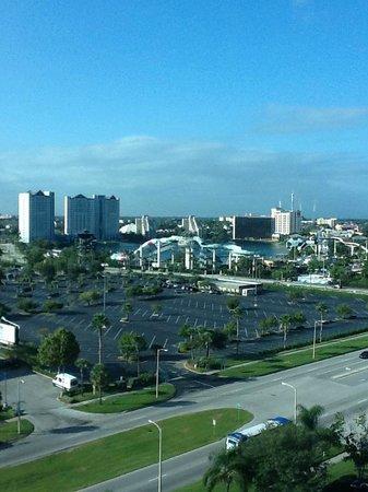 Four Points by Sheraton Orlando International Drive: Vista da janela do quarto