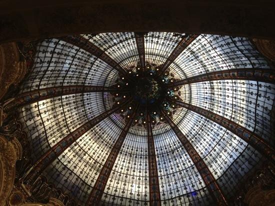 PARISCityVISION: galerias lafayette . no se olvide de tambien mirar el edificio cuyo techo es una obra esplendida