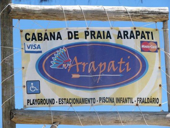 Cabana Arapati: Arapati