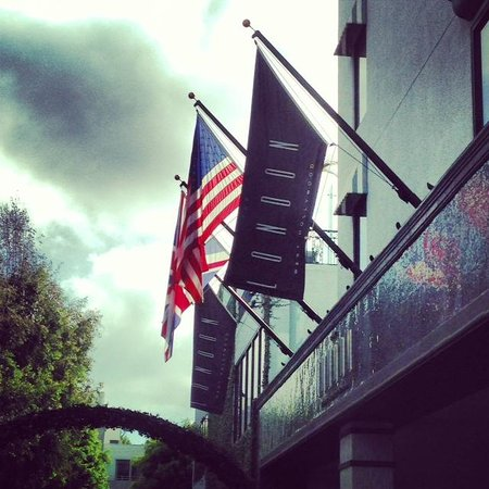 Glitterati Tours: The London West Hollywood Hotel is home to Gordon Ramsay's restaurant.