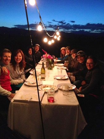 Awe-Struck Outdoors-Day Tours: Great dinner & company!