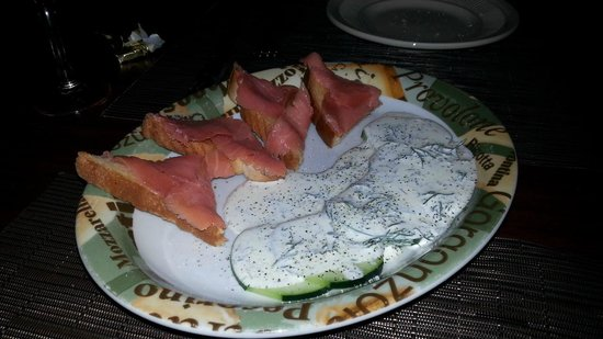 Salt N Pepper Bistro: Nordic Plate - Smoked Salmon appetizer