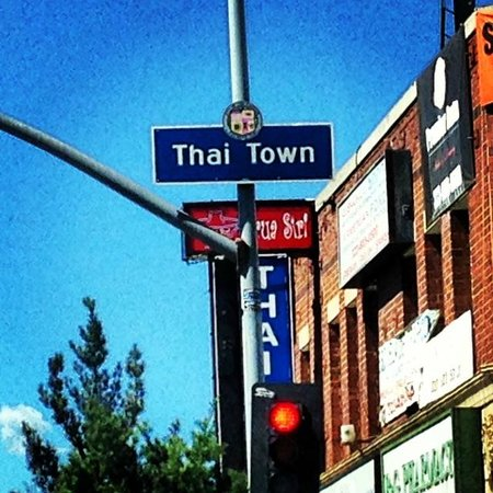 Glitterati Tours: Thai Town is one of many diverse neighborhoods around Los Angeles.