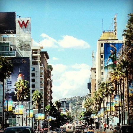 Glitterati Tours: A postcard perfect day in Hollywood by the Pantages Theatre and The W Hotel.