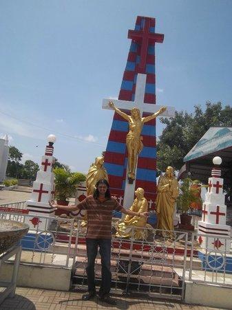 St. Thomas Mount National Shrine: outside