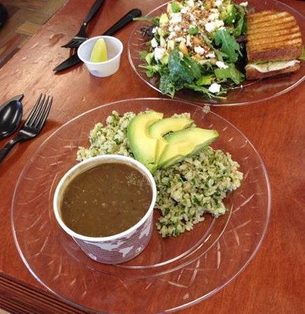 Naturally Cafe: lunch... so good!