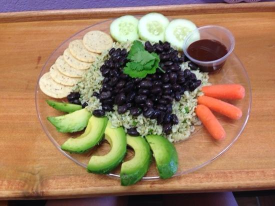 Naturally Cafe : Cilantro Rice & Beans