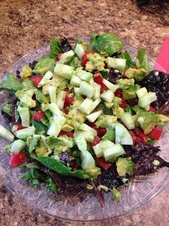 Naturally Cafe : Just a Salad