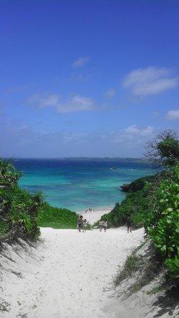 Sunayama Beach: 見てください!