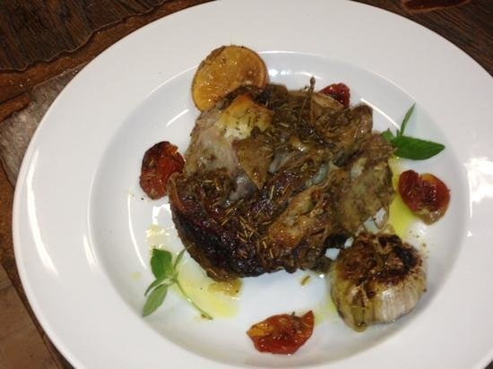 Stratis Mediterranean Grill: roast lamb