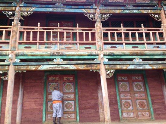 Manzshir Monastery: Manzushir monastry Tuv aimag