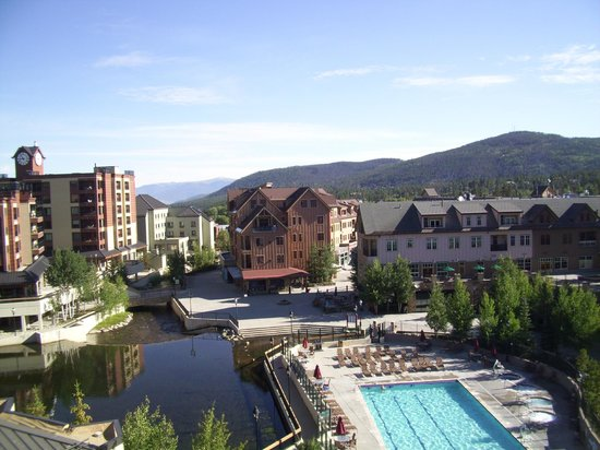 Marriott's Mountain Valley Lodge at Breckenridge: View from our room
