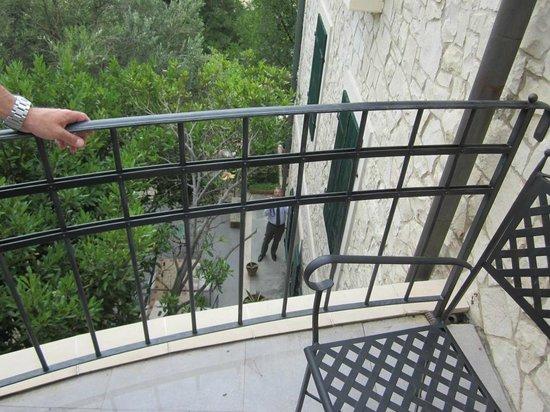 Hotel Boskinac: romeo and juliet balcony