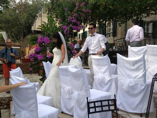 Hotel Boskinac: wedding ceremony