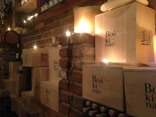 Hotel Boskinac: Fabulous wine