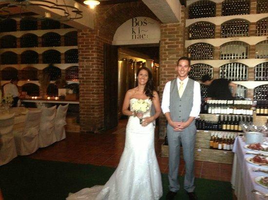 Hotel Boskinac: wine cellar
